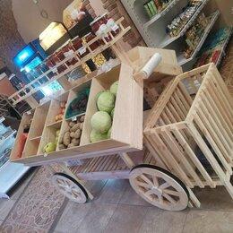 Витрины - Деревянная витрина для овощей и фруктов, 0