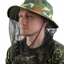 Одежда и обувь - Шляпа от комаров (накомарник)., 0