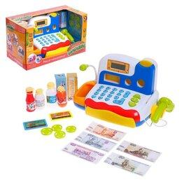Калькуляторы - Касса-калькулятор «Любимые покупки-2», световые и звуковые эффекты, работает ..., 0