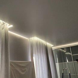 Потолки - Натяжной потолок со скрытым карнизом для штор, 0