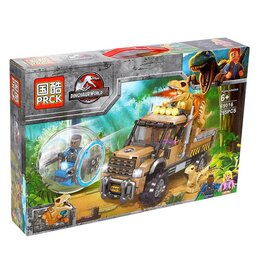 Автокресла - Конструктор PRCK Dinosaur World 69016 (295 дет.), 0