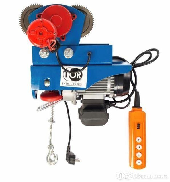 С ТЕЛЕЖКОЙ электрическая таль TOR PA-250/500 20/10M (N) по цене 21636₽ - Грузоподъемное оборудование, фото 0