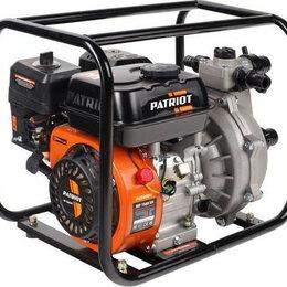 Мотопомпы - Мотопомпа бензиновая PATRIOT MP 1560 SH для слабозагрязненной воды, высоконап..., 0