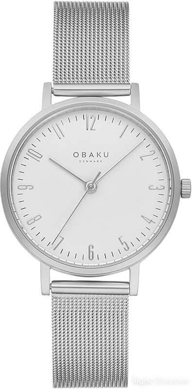 Наручные часы Obaku V248LXCIMC по цене 4290₽ - Умные часы и браслеты, фото 0