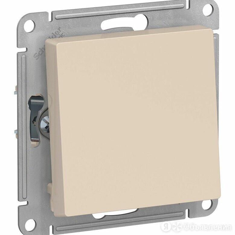 Механизм выключателя 1-кл. СП AtlasDesign 10А IP20 (сх. 1) 10AX беж. SchE ATN000 по цене 104₽ - Электроустановочные изделия, фото 0
