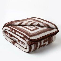 Одеяла - ВЛАДИ Одеяло шерстяное «Греция» 140х205 см, цвет терракот, 0