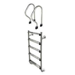 Лестницы и поручни - Лестница Aquaviva SP-515 (5 ступ.) из 2-х элементов, 0