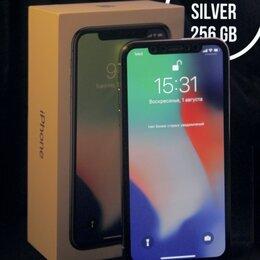 Мобильные телефоны - iPhone X Silver на 256 Gb, 0
