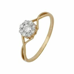 Кольца и перстни - 1000201553 Кольцо (Au 585) (18.0) Алмаз-Холдинг, 0