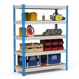 Мебель для учреждений - Стеллаж металлический среднегрузовой, 0