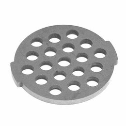 Аксессуары и запчасти - Решетка для мясорубок Daewoo, Tefal, Moulinex и др. (d-54 мм), 0