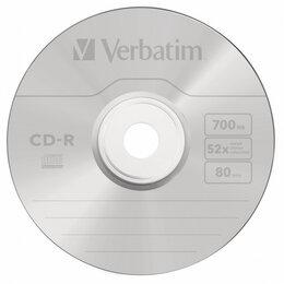 Диски - Verbatim Диск CD-R Verbatim 700Mb 52x DataLife+ Jewel Case (10шт), 0
