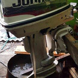 Двигатель и комплектующие  - Лодочный мотор джонсон 30 двухтактный, 0