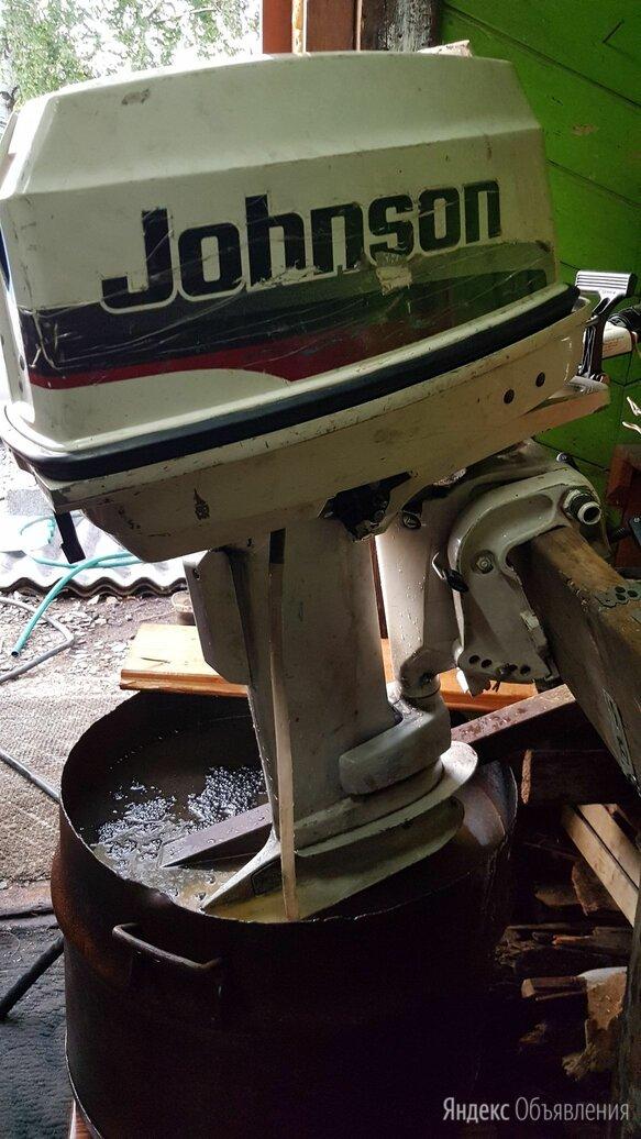 Лодочный мотор джонсон 30 двухтактный по цене 55000₽ - Двигатель и комплектующие , фото 0