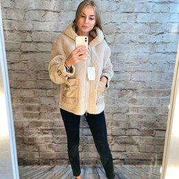 Шубы - Шуба куртка тедди из овчины зимняя , 0