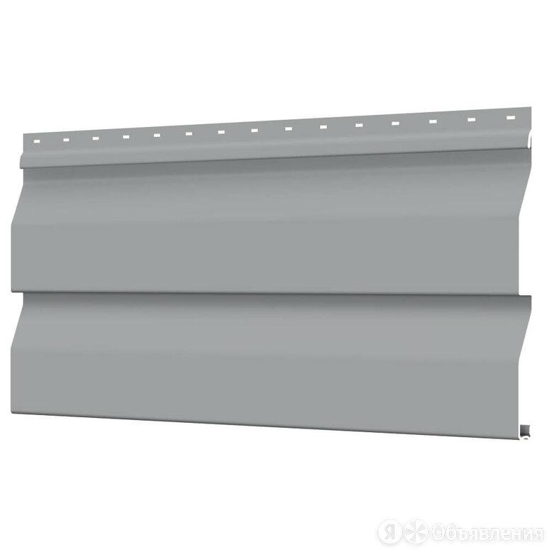 Сайдинг металлический Корабельная Доска RAL7004 Серый ЭКОНОМ по цене 88₽ - Сайдинг, фото 0