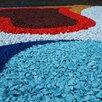 Цветной декоративный щебень по цене 100₽ - Садовые дорожки и покрытия, фото 0