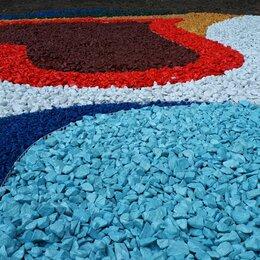 Садовые дорожки и покрытия - Цветной декоративный щебень, 0
