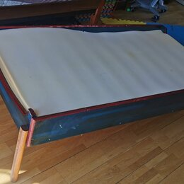 Кроватки - Кровать детская деревянная, 0