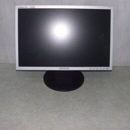 """Мониторы - Монитор ЖК 19"""" 16:10 Samsung 923nw черный-серебрис, 0"""
