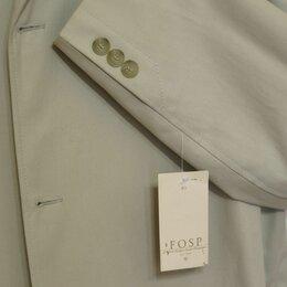 Пиджаки - Мужской летний пиджак 100 хлопок новый без подкладки, 0