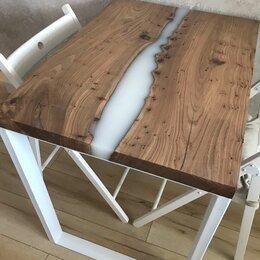 Мебель для кухни - Стол из дерева стиль лофт, 0