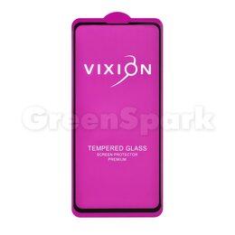 Защитные пленки и стекла - Защитное стекло 6D для Xiaomi Mi 9T (черный) (VIXION), 0