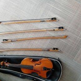 Смычковые инструменты - Скрипка инструмент времён СССР. Смычки 4 шт Чехол. Доставка , 0