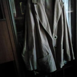 Куртки - Легкая куртка под замшу., 0