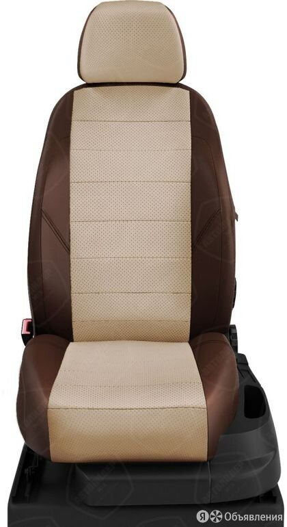 Чехлы на сидения Hyundai Tucson 2015 2020 Шоколадный/Бежевый (арт.HY15-0803-E... по цене 7200₽ - Интерьер , фото 0