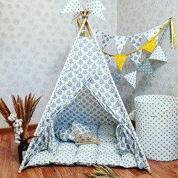 Игровые домики и палатки - Вигвам детский домик палатка типи шатер, 0