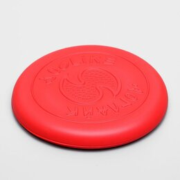 Фрисби - Летающая тарелка-фрисби 'ДогЛайк' малая, 18х2,3 см, алая, 0