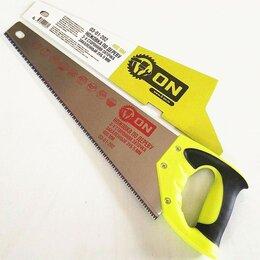Пилы, ножовки, лобзики - 3-ON Ножовка по дереву, 3-х сторонняя заточка, закаленный зуб 5 мм, 400 мм, 0..., 0