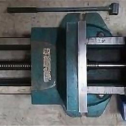 Тиски - Тиски станочные 250 мм поворотные ( уцененные), 0