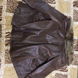 Куртки - мужская кожаная куртка, 0