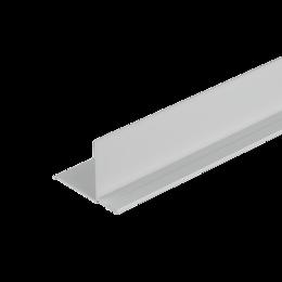 Сайдинг - Фасадный внутренний угол Дёке Дымчатый 3,05м. (30 шт. в упак.), 0
