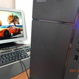 Настольные компьютеры - Новый 12-ядерный Игровой ПК+Вин10/64+все программы, 0
