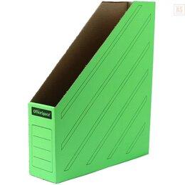 Прочие аксессуары - OFFICE SPACE Накопитель архивный OFFICE SPACE А4 75мм зеленый, 0
