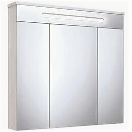 Зеркала - Зеркальный шкаф RUNO ПАРМА 750*750*156мм, 0
