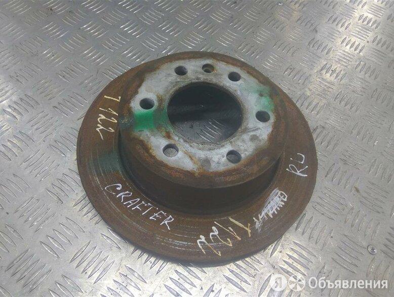 Диск тормозной задний  ФОЛЬСКВАГЕН Crafter 1 по цене 1200₽ - Тормозная система , фото 0