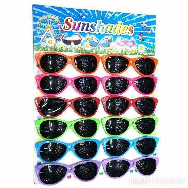 Очки детские солнцезащитные пластик (разные цвета) арт.SGL-824 по цене 90₽ - Очки и аксессуары, фото 0