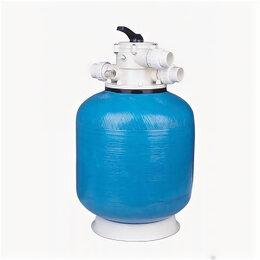 """Фильтры, насосы и хлоргенераторы - Фильтр шпульной навивки Д.450 мм, 8 м³/час, верхнее подключение 1½"""" Pool King..., 0"""