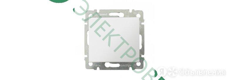 Выключатель Legrand Valena одноклавишный (белый) 774401 по цене 220₽ - Электроустановочные изделия, фото 0