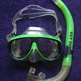 Маски и трубки - Маска EGY SUB с трубкой для плавания , 0