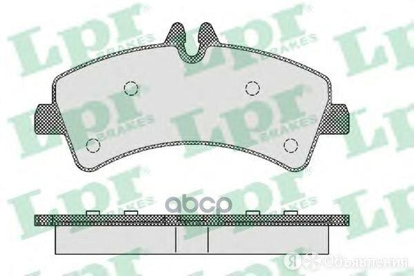 Колодки Тормозные Mercedes Sprinter (906)/Volkswagen Crafter 06> Задние Lpr а... по цене 1884₽ - Тормозная система , фото 0