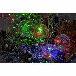 Наука и образование - Гирлянда LED 3м Музыкальные Диско Шары, 6см цветные , 0