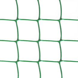 Заборчики, сетки и бордюрные ленты - Сетка садовая Ф-60, ячейка 50x60мм, рулон 1x10м, зеленая, 0