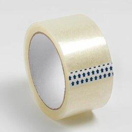 Изоляционные материалы - Скотч 48мм*120м 40 мкр прозрачный  6/24, 0