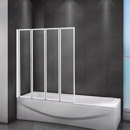 Шторы и карнизы - Cezares Шторка на ванну CEZARES RELAX-V-4-90/140-C-Bi, 0