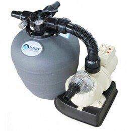 Фильтры, насосы и хлоргенераторы - Фильтровальная установка для каркасных бассейнов, 0